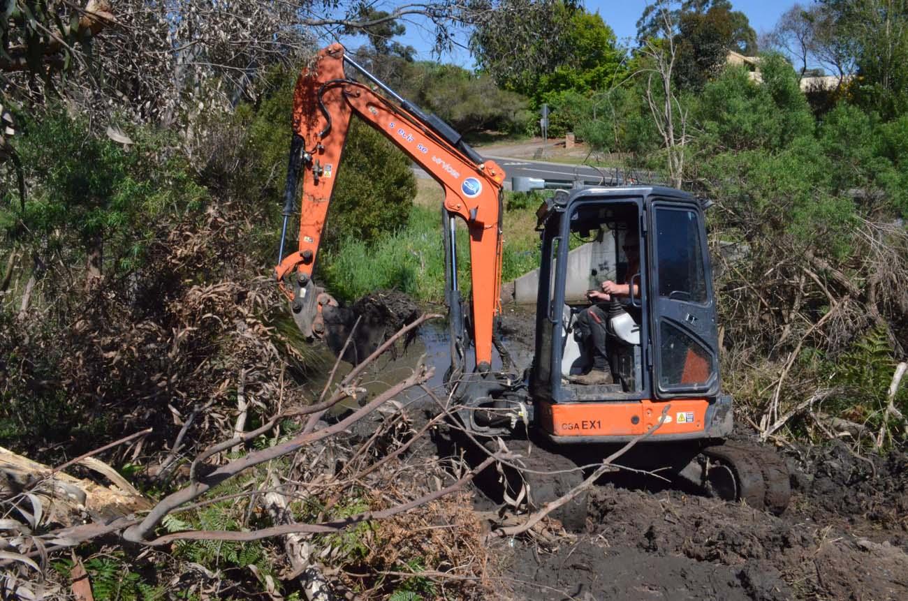 CSA fleet - excavators