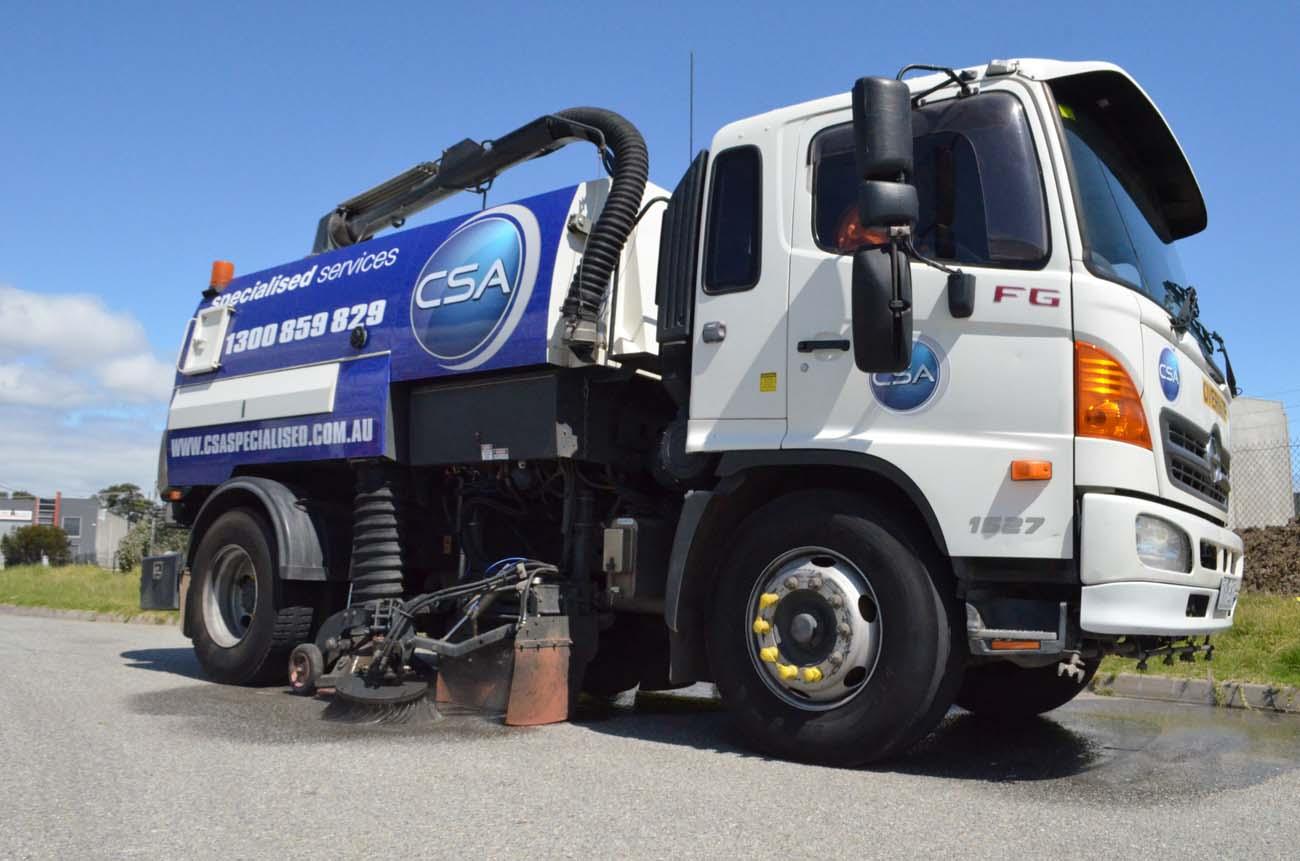CSA fleet - street sweepers
