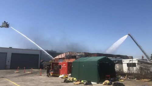 Emergenct Response to Campbellfield Factory Fire